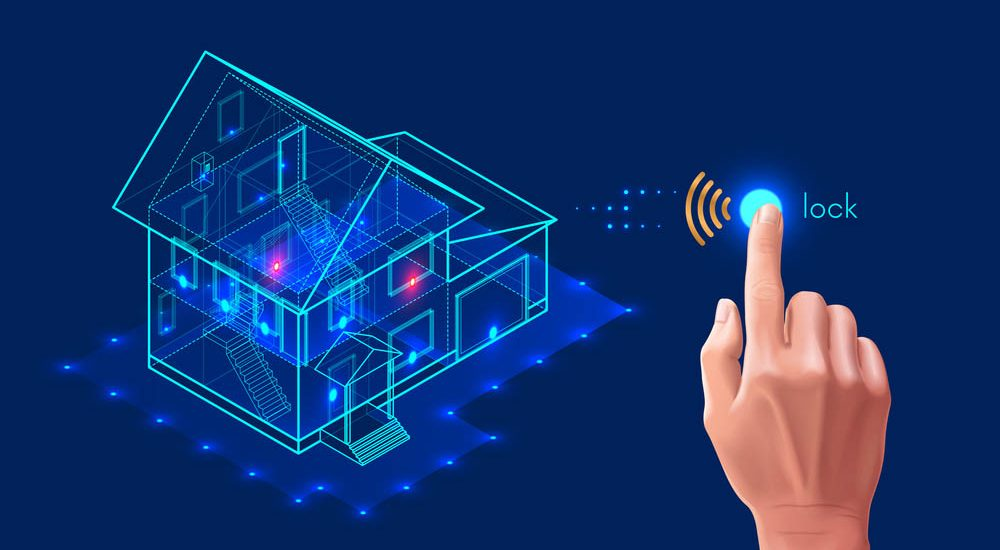 Home Security System Pensacola Drawing